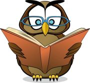 Reading owl